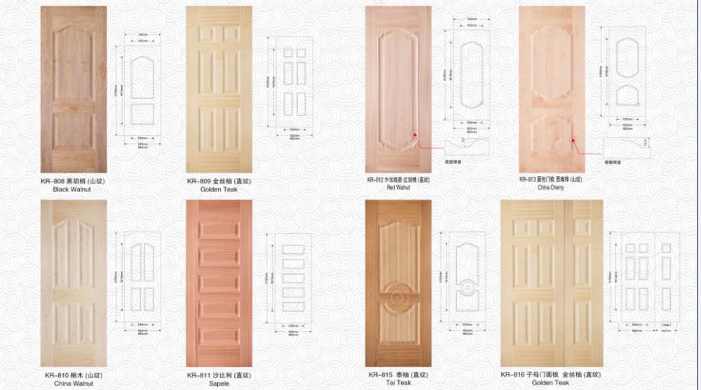Wholesale bedroom wooden door designs teak wood door in for Door design malaysia
