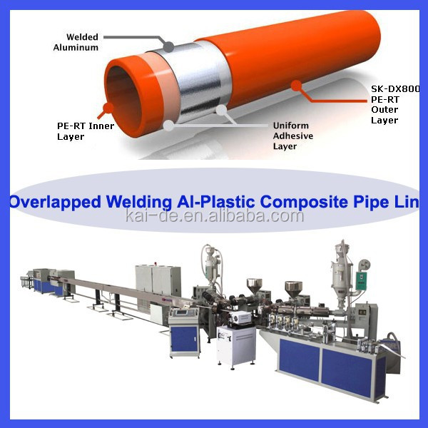 5-layer pap composited pipe production line