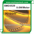 SMD 3528 DC24V warm white 2300K led strip with 5meters/roll