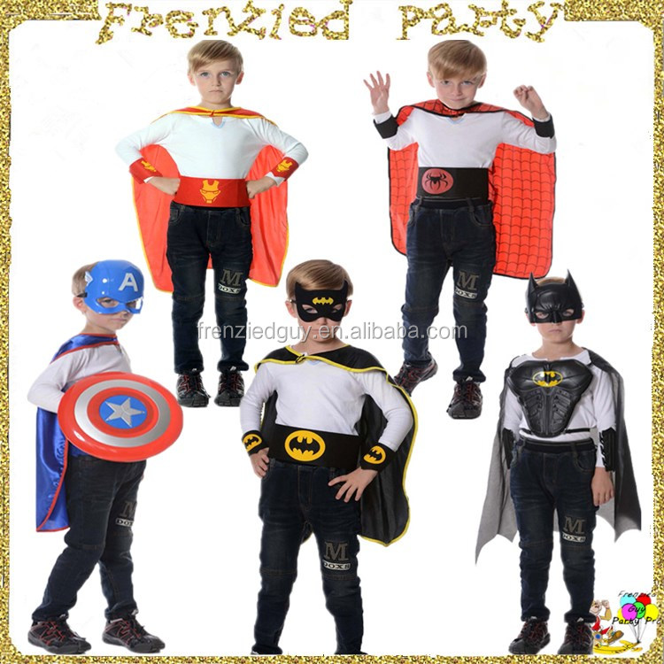 Chrildren heros wholesale superhero cape FGCA-0014