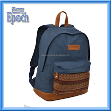Factory Direct Cheap practical school bag made of canvas