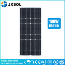 Home use A-grade cell 100w mono solar panel for hot sale