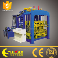 QT8-15 hydraulic cement block drawings/used concrete block making machine