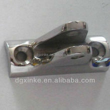 Processing trunk caster wheel metal bracket