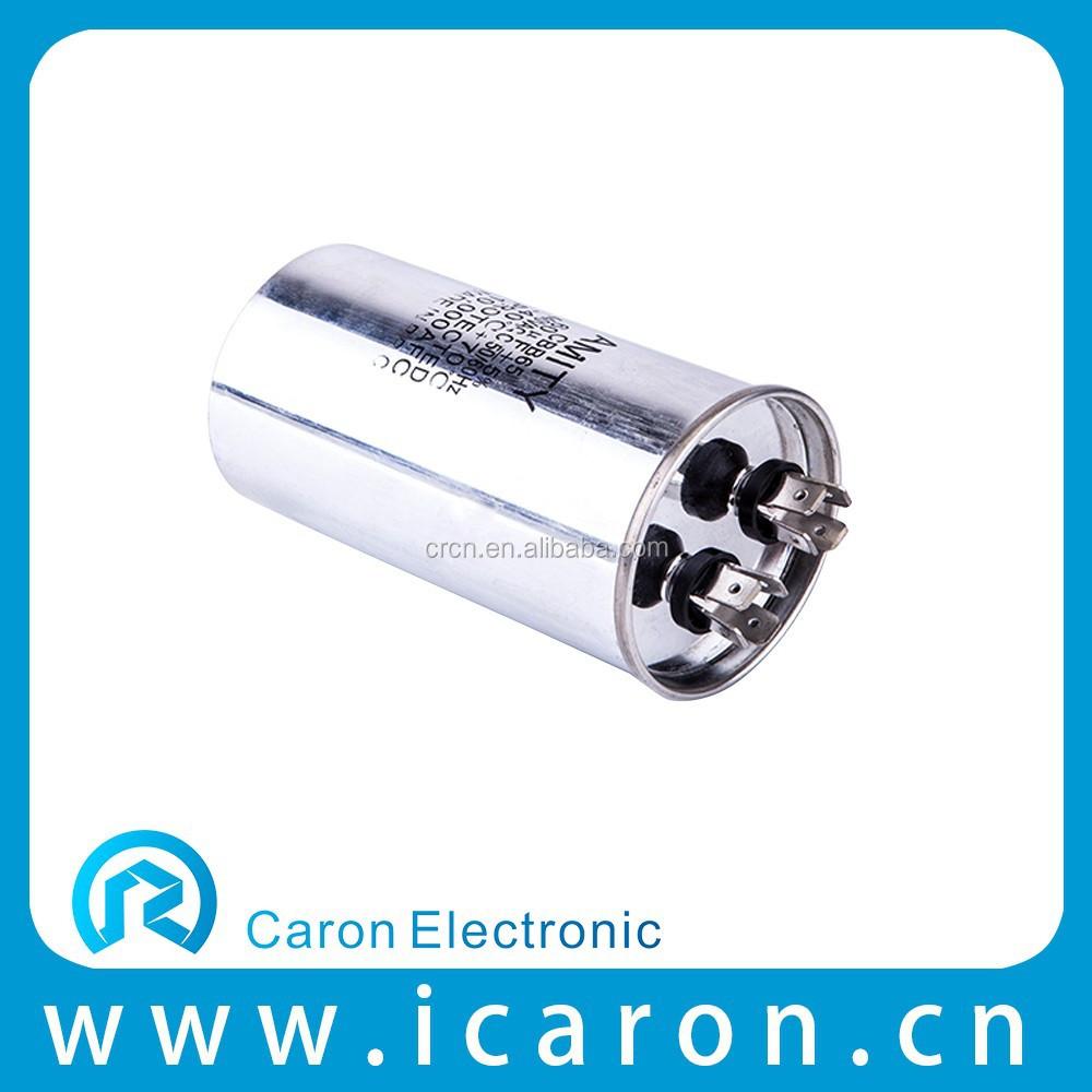 Ce ul cqc single phase motor capacitor 35uf 440vac 50 60hz for 3 phase motor capacitor