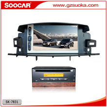 Intelligent Parking Guide line Car Stereo DVD Player for Renault Latitude Laguna 3 2010-2015