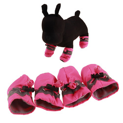 Reflective Waterproof Puppy Dog Boots Spring Summer Shoes anti-slip pet cat socks for outdoor indoor used
