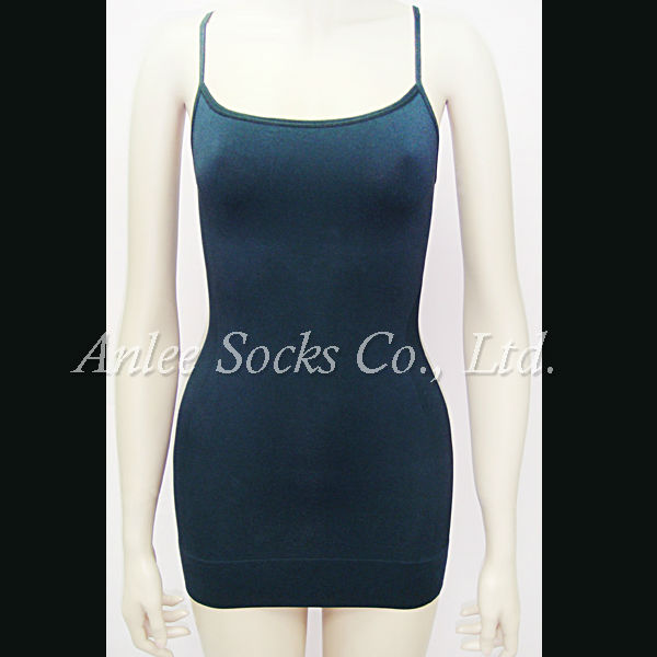 LBS-007 Seamless Vest With Pad Slimming Women Body Shaping Vest