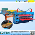double layered roof tile roll forming machine
