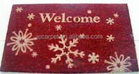 ECO friendly antislip mat polyresin personalized christmas ornaments