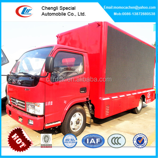 Dongfeng mobile led screen truck xxx video,outdoor led advertising screen truck,truck mobile led displaying