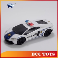 Direct factory price special and cool design police car model 2.4G customized nitro rc car