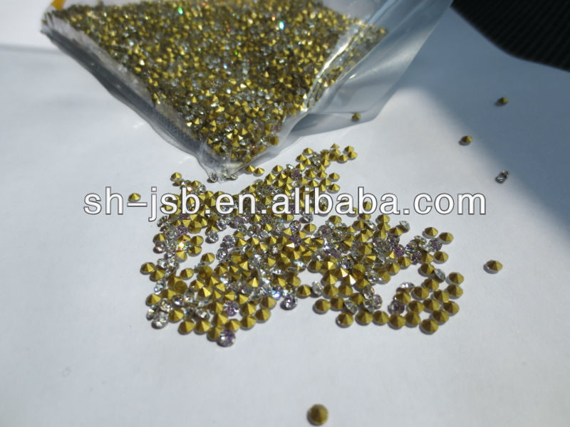 point back rhinestone for bag shoes garments accessories