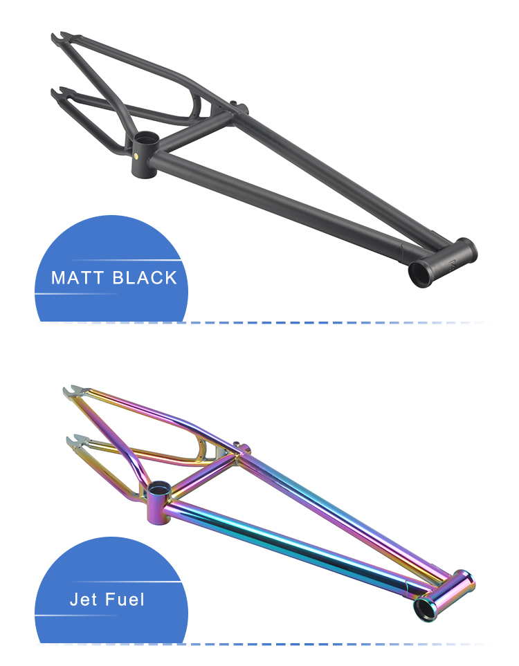 Customized logo colorful matt 16'' 18'' 20'' wholesale best selling freestyle bicycle chromoly#4130 bmx folding frame bike
