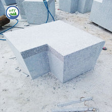 G341 granite curved wall stone
