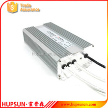 High quality metal 250w waterproof LED light driver AC- DC 12v 20a 24v 10a 48v power supply IP67 switching power source