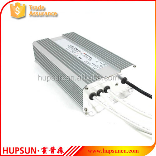 metal 250w dc 24v water proof LED light driver 12v 20a 24v 10a switching power supply
