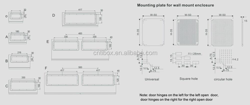 Tibox Hot Sale Modular Electric Metal Switch Box Buy
