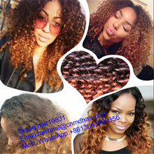 malaysian kinky curly sensational net cap hair weave