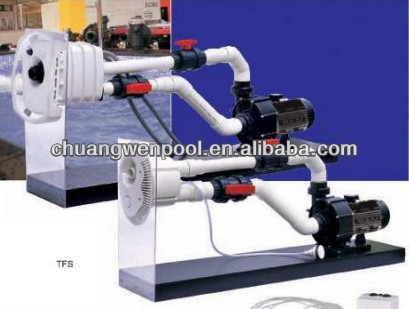 Counterflow system swimming pool jet stream water pump