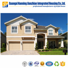 Light Steel Frame System Luxury Prefabricated Houses Villa