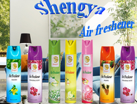 Household scent air freshener spray