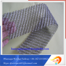 With free sample service Applied for air filter Chain Mail knitted Wire Mesh