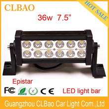 led daytim run light,offroad led light bar,Long life led light bar 36w IP67