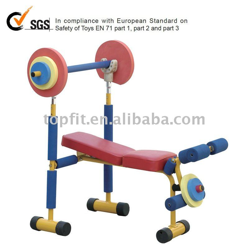 Kids Fitness Weight Bench