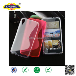 S Line Transparent TPU Mobile Phone Silicone Case for HTC Desire 828