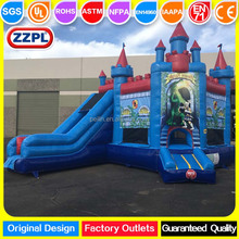 ZZPL China Inflatable Jumping Castle , Outdoor Inflatable Fun House with Slide for children