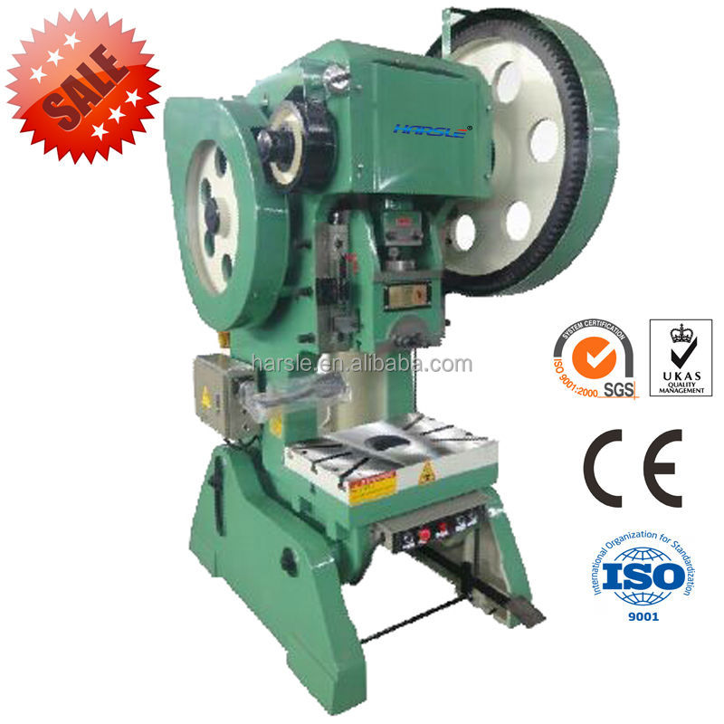 J23 series mechanical crank press 63t, mechanical punching machine, hole punch for metal