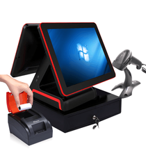 15'' POS <strong>System</strong> / terminal with single/ dual touch screen