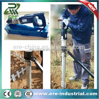 Portable electric power tools electric solar pile driver