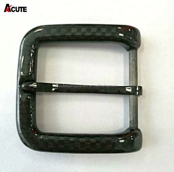 2018 Metal-Free Fashion Light Carbon Fiber Buckle pin Buckle