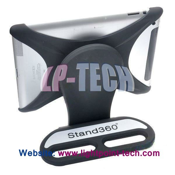 Portable Aluminum 360 Rotatable Foldable Desktop Holder Desk X Shape Stand 360 degree rotate for ipad case