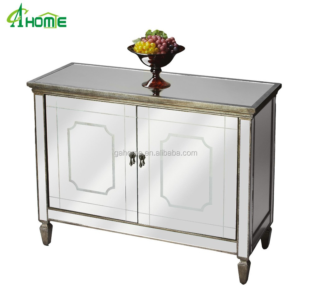Mirrored Furniture 2 doors Cabinet