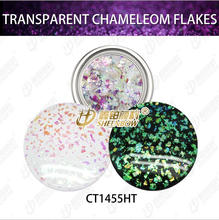 New fashion Irregular flake Chameleon Effect Pigments for Nail/ Gel Polish