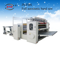 Fastest New Design High Speed Automatic Printing Embossing V Fold Hand Tissue Paper Machine