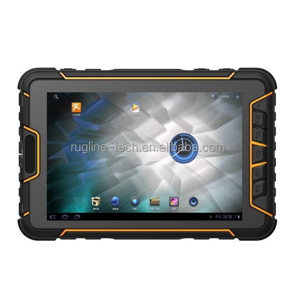 7 Inch Quad Core 1.5GHz Waterproof industrial android tablet ip67 Android NFC Tablet with 3G
