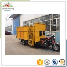 Three wheel motorcycle tricycle for garbage collection