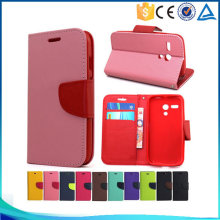 Hot sale Mixed colors pu leather flip cover case for sony Xperia Z2 D6503