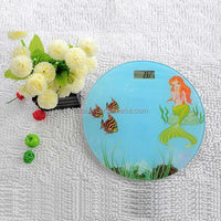 round scale lovely mickey mouse and stars personal scale body scale healthy scale home use personal scale with electronic scale