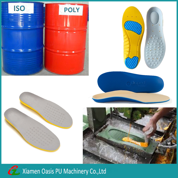 Comfortable PU Shoe Sole Polyurethane Isocyanate Resin