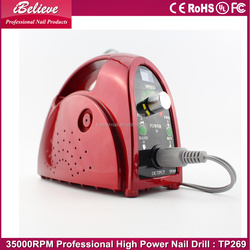 2015 Best sell electric nail drill 35000 rpm diamond core drill bits for hard rock