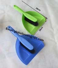 Item No.0777 made in China hand dust pan with broom set
