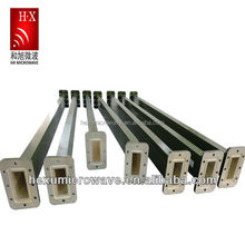 Straight rigid Waveguide Component from hexu microwave