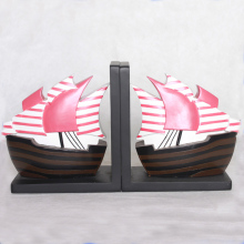 Manufacturers Sailing Shape Wholesale Resin Bookends