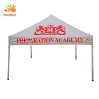 Best quality hot sale custom china factory square pop up event tents