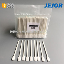 white handle Esd micro fiber cleanroom polyester swab for printer head